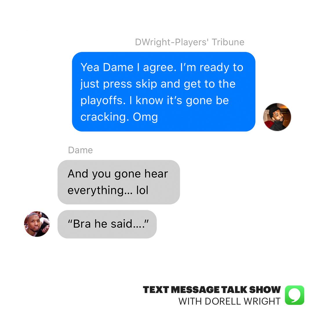 .@Dame_Lillard, @CJMcCollum and the @trailblazers just got one step closer to securing their spot in the #NBAPlayoffs. 👀 📲 playerstribu.ne/TMTSEp1