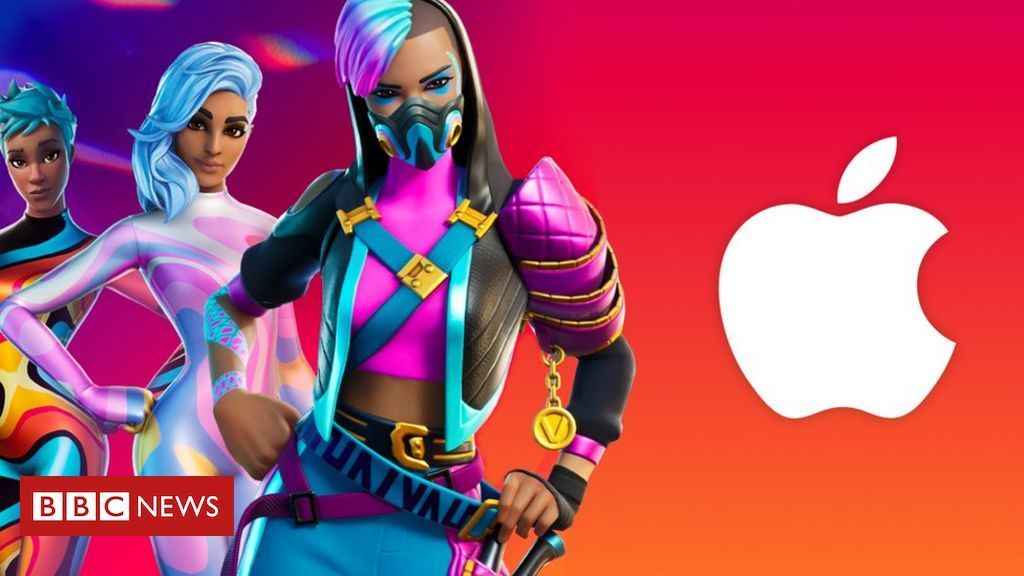 Fortnite sues Apple over App Store ban, alleging that Apple effectively runs a monopoly in both deciding what apps can appear on iPhones and demanding its own payment system Did #Apple become the devil that it railed against? #Fortnite bbc.in/3fZE2Iq via @BBC