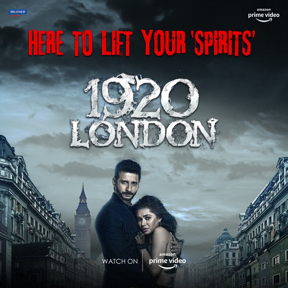 Wherever Shivangi and Veer go, the spirit follows! Watch #1920London on @PrimeVideoIN  https://t.co/oIMPCtDadl  @TheVikramBhatt @TheSharmanJoshi @MeerraChopra #TinuSureshDesai https://t.co/OohtNqPQmu