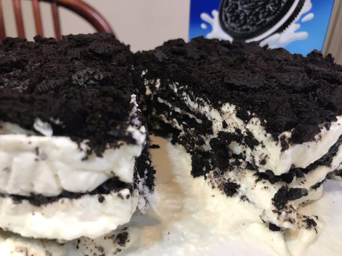 ケーキ オレオ レシピ チーズ
