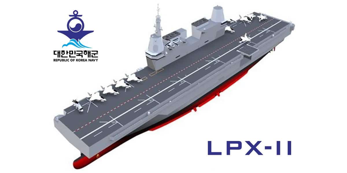 """""""So #SouthKorea now reveals the LPX-II will not be an  amphibious assault ship but a dedicated light aircraft carrier. It is to be  launched in late this decade .…"""