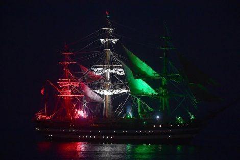 Ferragosto con l'Amerigo Vespucci, la nave della Marina militare a Portopalo - https://t.co/Kb2ElOowAi #blogsicilianotizie