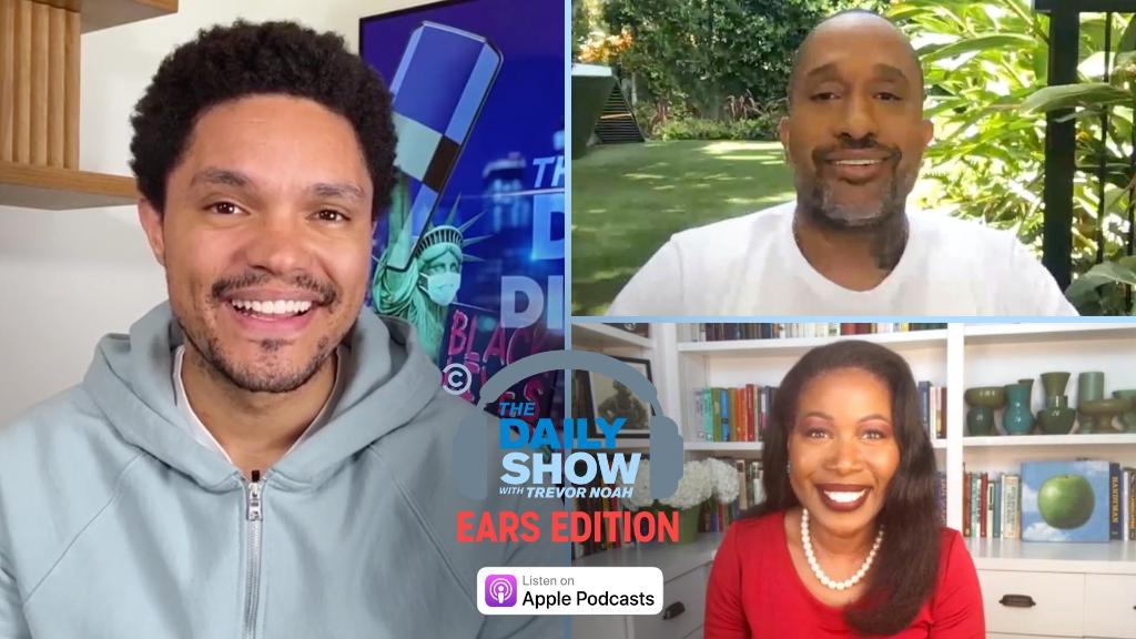 .@dulcesloan and @MissMargoPrice react to sexist attacks on Kamala Harris, @funnyblackdude talks about his shows Black-ish and #blackAF, and @Isabelwilkerson discusses Caste. Listen and subscribe: on.cc.com/2E5gl4o