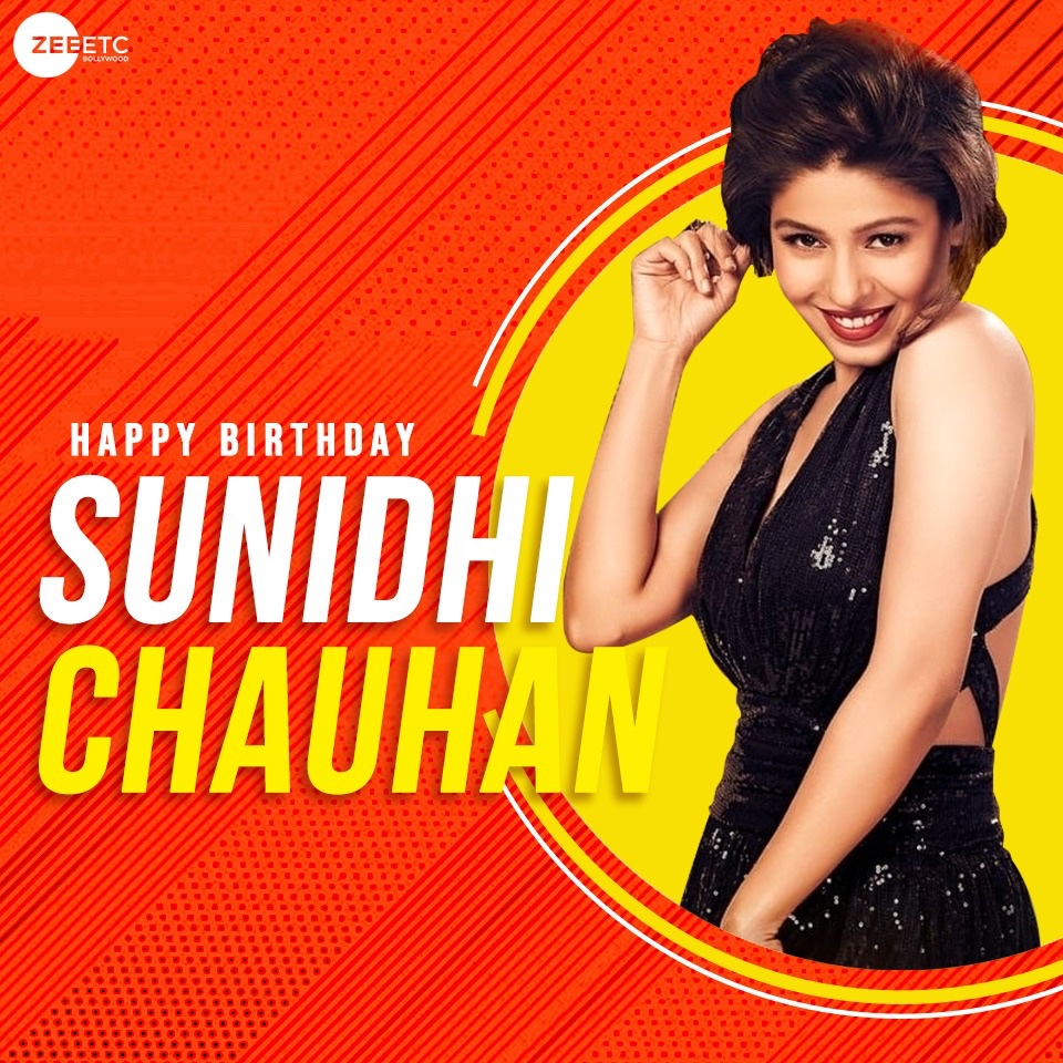 Wishing the versatile and bubbly singer, Sunidhi Chauhan, a very Happy Birthday. @SunidhiChauhan5  #SunidhiChauhan #HappyBirthdaySunidhi https://t.co/kuX5k0VPQc