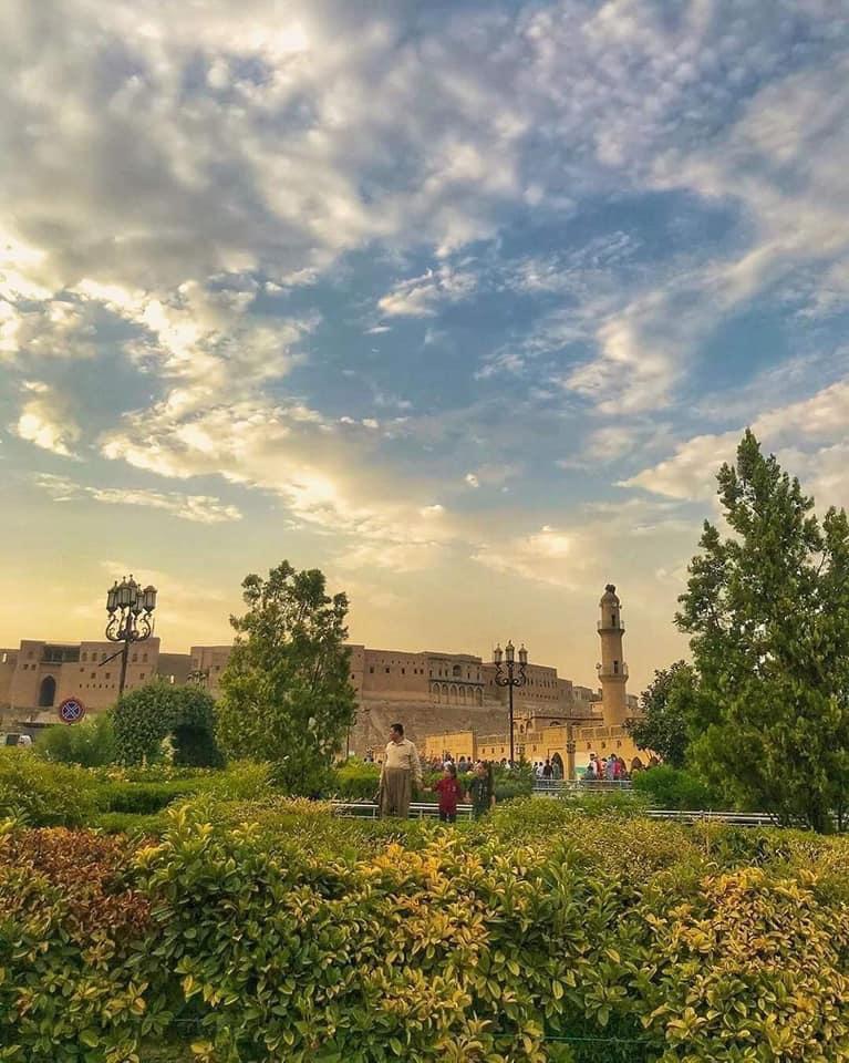 RT @baghdad_salam: صباح الخير من اربيل ❤️🇮🇶 Good morning from Erbil  #IRAQesque  #Baghdad_salam https://t.co/yQfnerDGoe