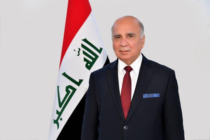صورة  بحث وزير الخارجية العراقي الاعتداء التركي على بلاده مع نظيريه البحريني والإماراتي EfXam9fXoAAus W format jpg name small