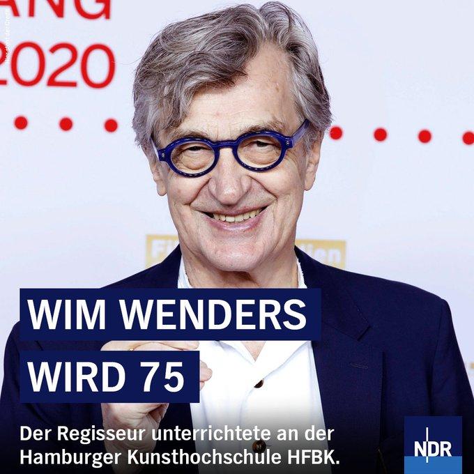 Happy Birthday, Wim Wenders