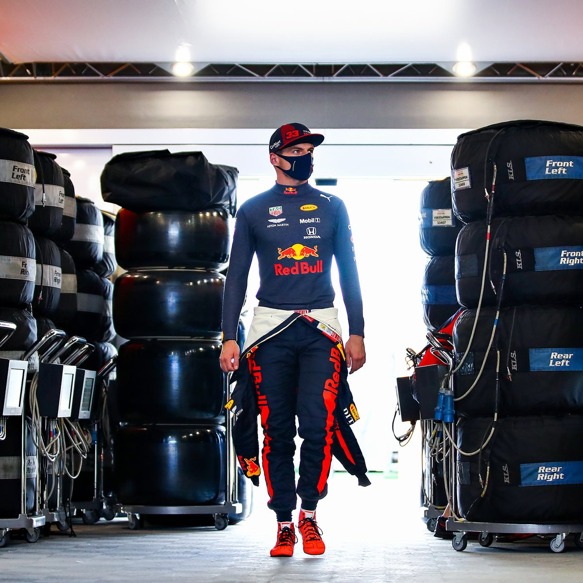 Let's see where these tyres will bring me this weekend 🦁 #UnleashTheLion #KeepPushing 🇪🇸 #SpanishGP https://t.co/YS7qOIkEHq