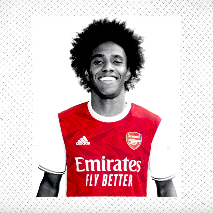 Replying to @Arsenal: 🆕 New club. New colours. New beginnings.  👋 Welcome to The Arsenal, @WillianBorges88! 🔴