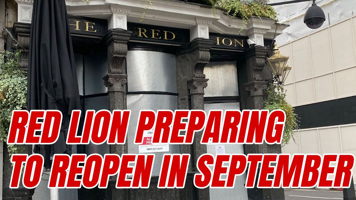 Red Lion Expecting to Re-Open in Three Weeks order-order.com/2020/08/14/red…