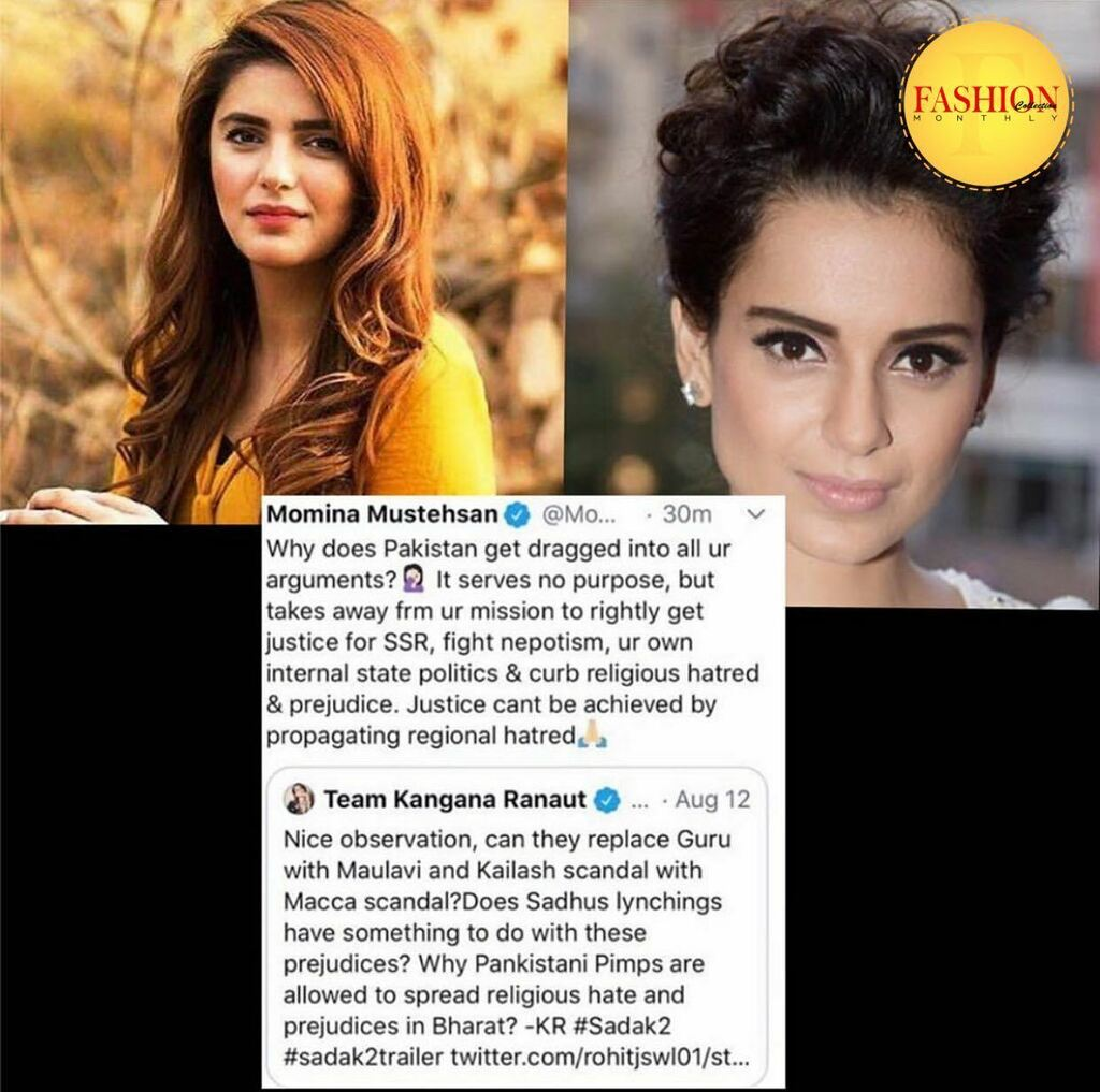 Momina raises a valid point. She says justice cant be achieved by negativity and propagating regional hatred.  . #fcmag #friends #lollywood #bollywood #2020 #style #lifestyle #music #brands #trends https://t.co/8oKZNDUKNV https://t.co/q9b9qQkyLu