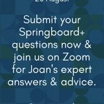 Image for the Tweet beginning: Any questions about @SpringboardHEA? Please