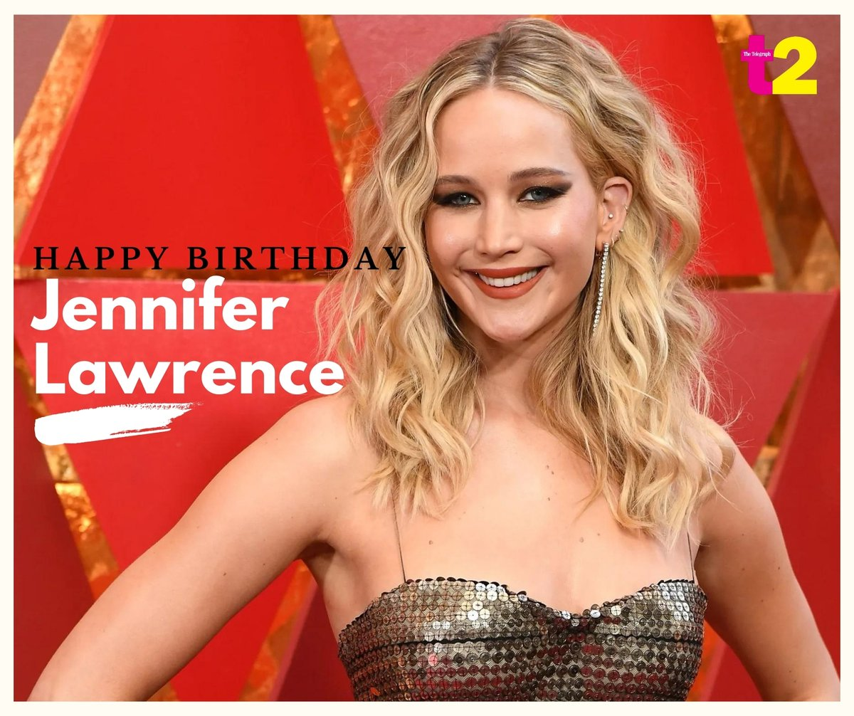 She's goofy, she's gorgeous and she's pure magic on screen! Happy birthday, Jennifer Lawrence!