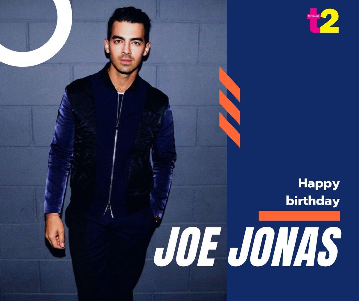 Let's wish Joe Jonas a very happy birthday while enjoying a cup of Joe! Keep making good music @joejonas