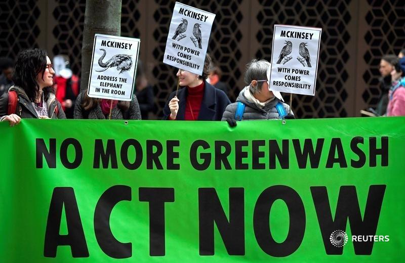 Corporate reports often cite carbon emissions created by companies' production and customers. Extinction Rebellion's Roc Sandford and Rupert Read argue these ignore the global warming tacitly supported through lobbying and advertising. https://t.co/kbgET4iB2t https://t.co/lKcwMnnLzo