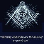 Image for the Tweet beginning: Sincerity & truth!! #freemason #sincerity #truth