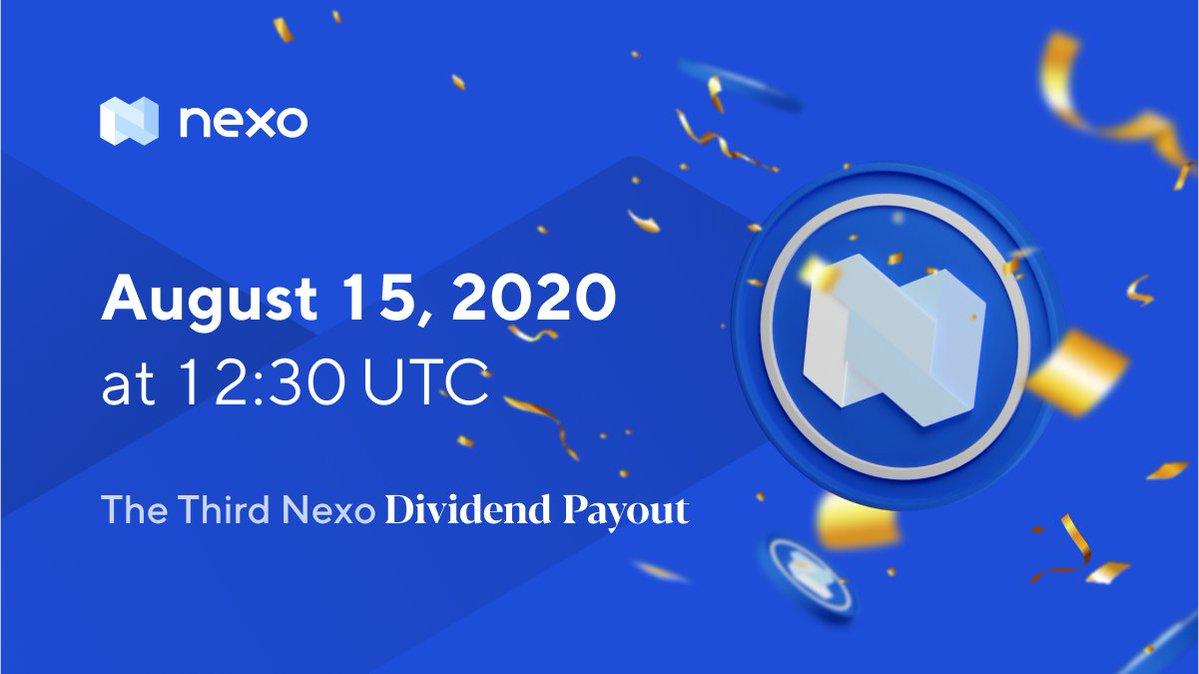 Tweet by @NexoFinance