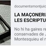 Image for the Tweet beginning:  La R:. L:. Montjuïc núm