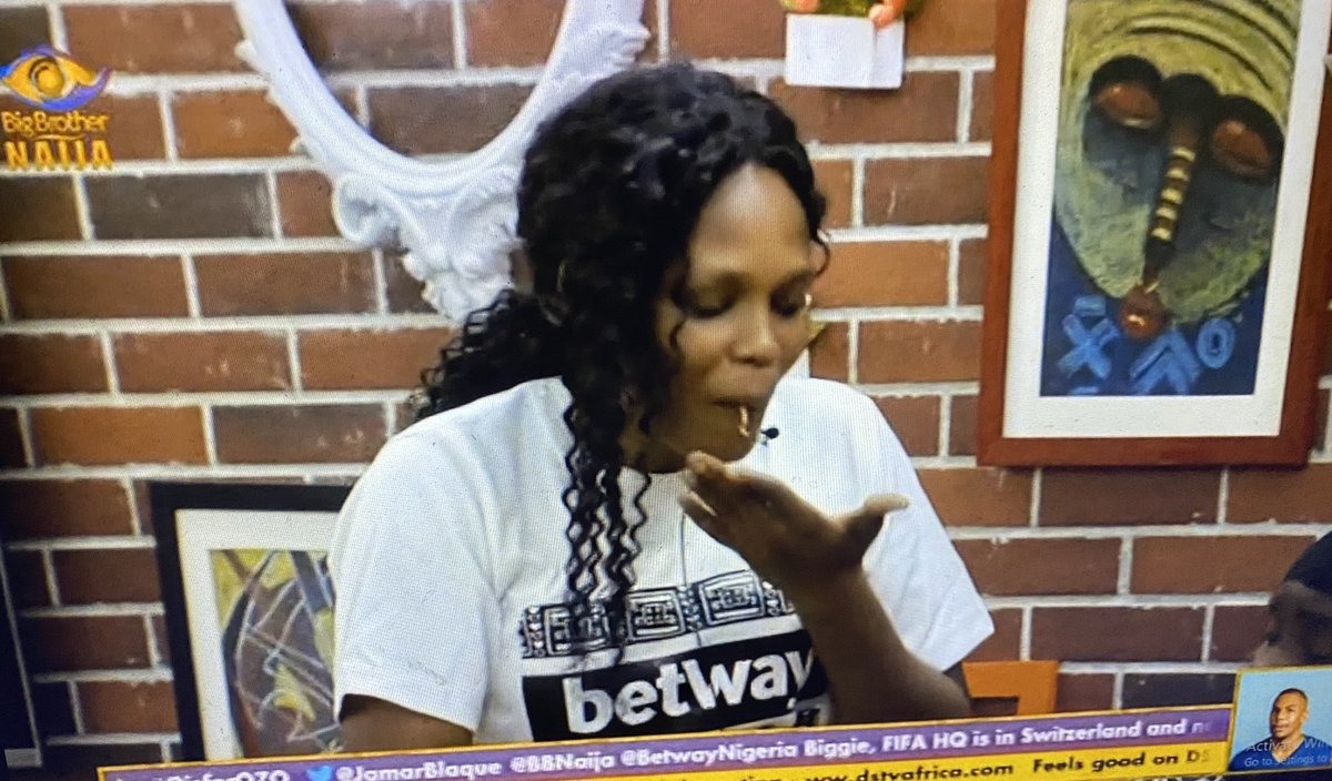 Kaisha na mummy indomie 😍 #Bbnaija #BETWAYFRIDAY