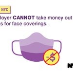 Image for the Tweet beginning: #ReopeningNYC Reminder:  Your employer CANNOT