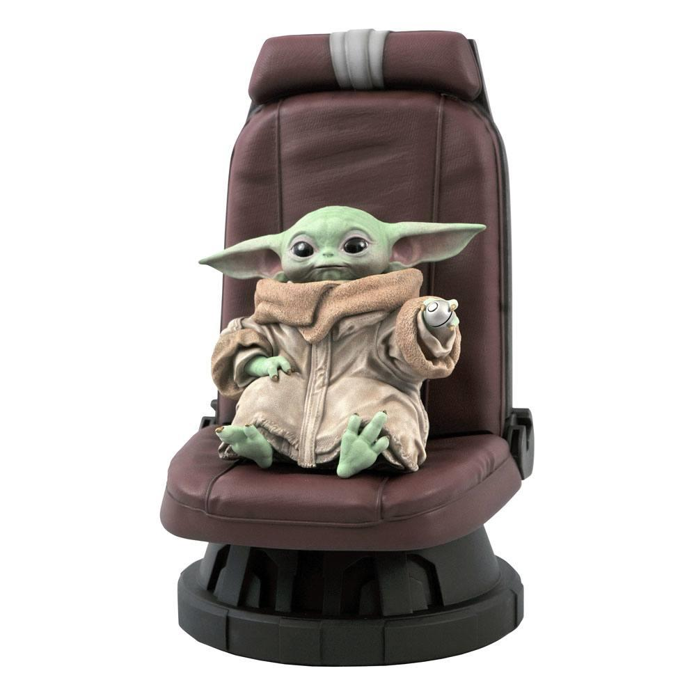 Hoy, en Cosas en Preventa que Molan Mil, esta estatua Premier Collection de #TheMandalorian con Baby Yoda en la silla de la nave de Din Djarin. La podéis reservar en milcomics.com/figuras-star-w…