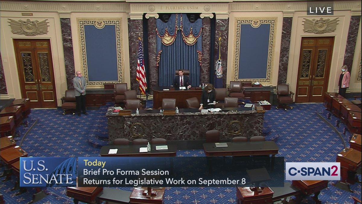 WATCH - Senate: Pro Forma Session cs.pn/31ML2TY
