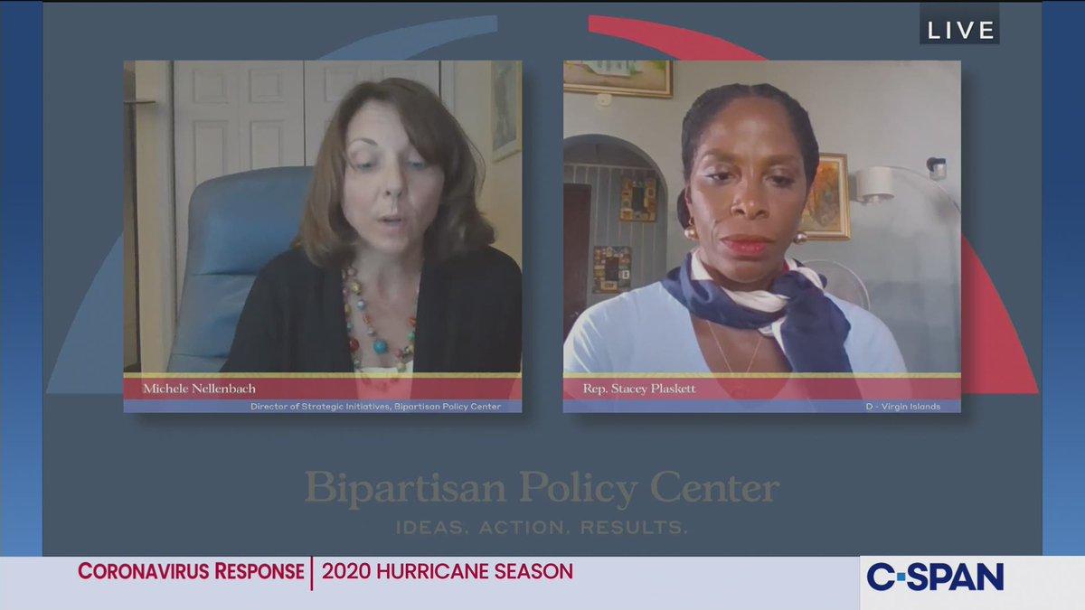Discussion on 2020 Hurricane Season, @BPC_Bipartisan hosts - LIVE on C-SPAN cs.pn/3iDUorZ