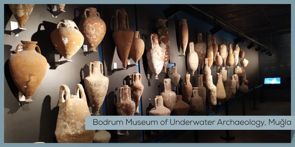 It was established to preserve artifacts found during the world's first underwater scientific excavations off Turkey's coasts in the 1960s.   #Turkey #Mugla #Bodrum #Castle #UnderwaterArchaeology #Museum #MuseumFromHome https://t.co/e3qpYH1HzH