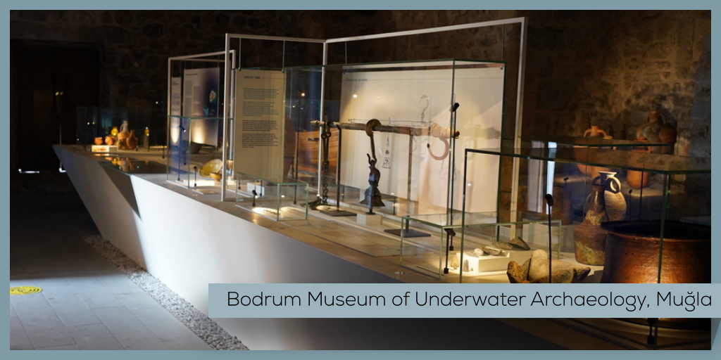 The museum received the European Museum of the Year Award Special Commendation in 1995! 🏆  #Turkey #Mugla #Bodrum #Castle #UnderwaterArchaeology #Museum #MuseumFromHome https://t.co/aRxxStzxd5
