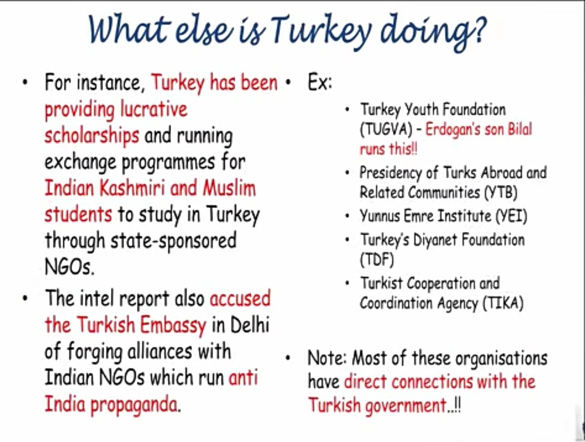 If you think #pakistan and #China are the only countries which are involved into conspiracy against India then you are wrong.  #Turkey is the 2nd most dangerous to India's integrity and peace  WHY? HOW?  @TurkeyinDelhi Stop conspiracy against India https://t.co/wnb1PH2PNG