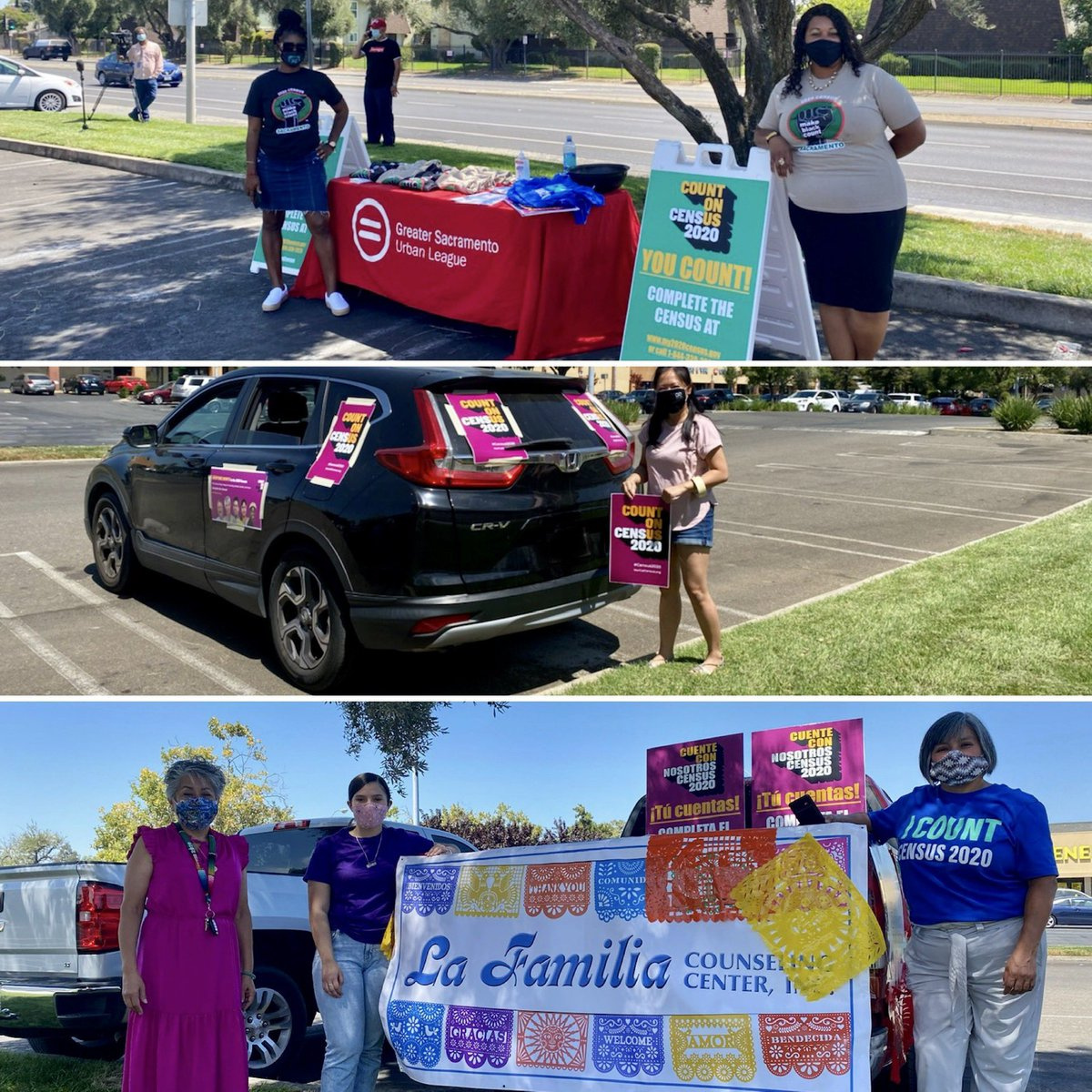 We participated in the Greater Sacramento Urban League Census Caravan yesterday. Here are some pictures to enjoy🙌🏾 https://t.co/byrI3fol5m