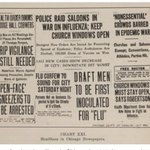 Image for the Tweet beginning: 1918 Flu Epidemic. Read the