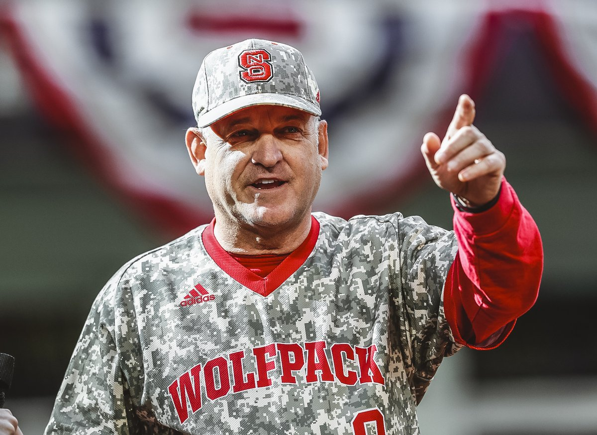 OTD in 1996, HC Elliott Avent was hired. This will be his 25th season as the leader of our Pack. THANK YOU for all you do for the #Pack9 and NC State.