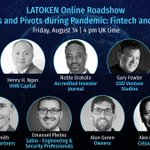 Image for the Tweet beginning: Join #LATOKEN discussion of the