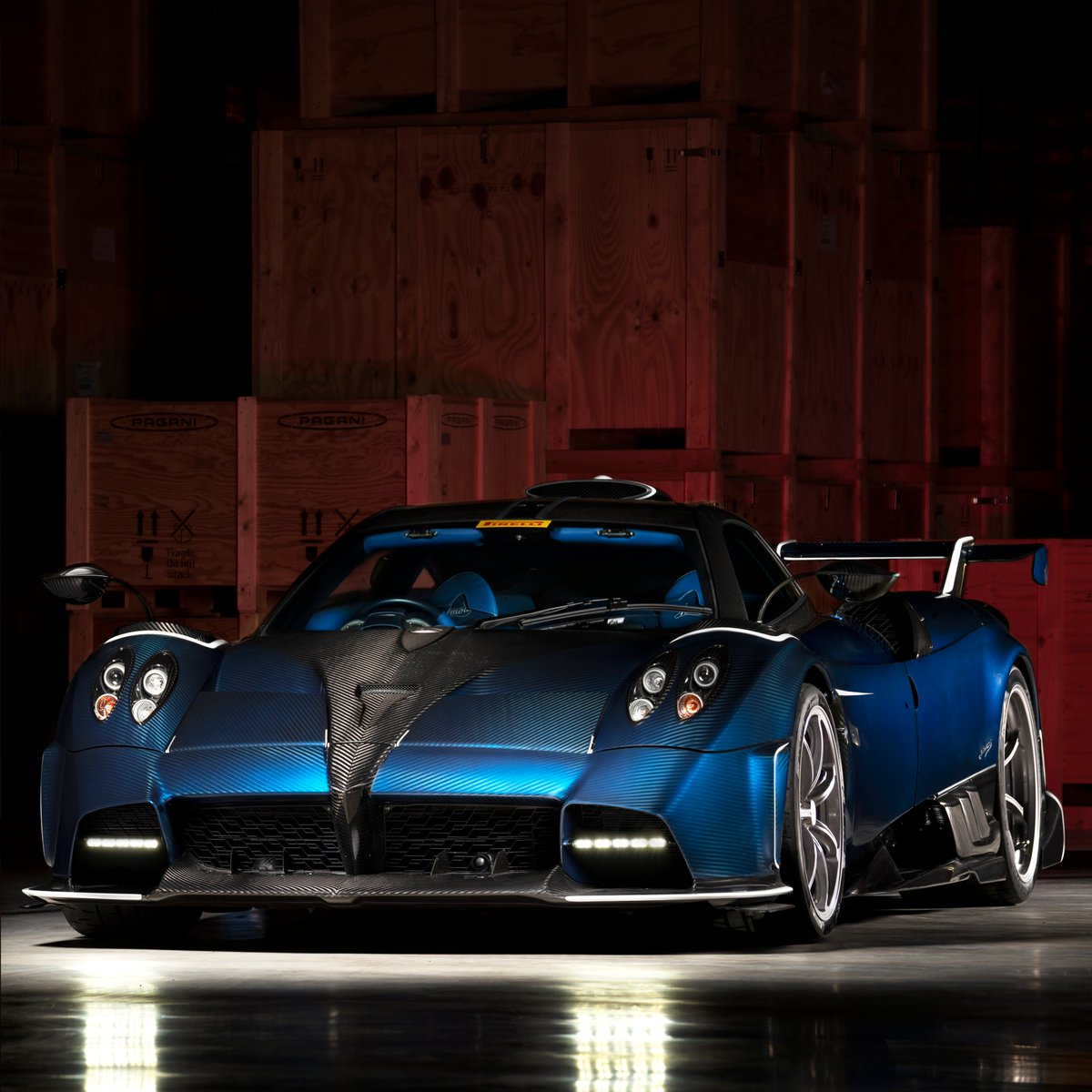 Pagani Automobili On Twitter The Pagani Imola Has A Really Strong Design 100 Meant For The Track Yet It Can Certainly Catch The Eye This Is The 3 Of 5 Specimen And It Is