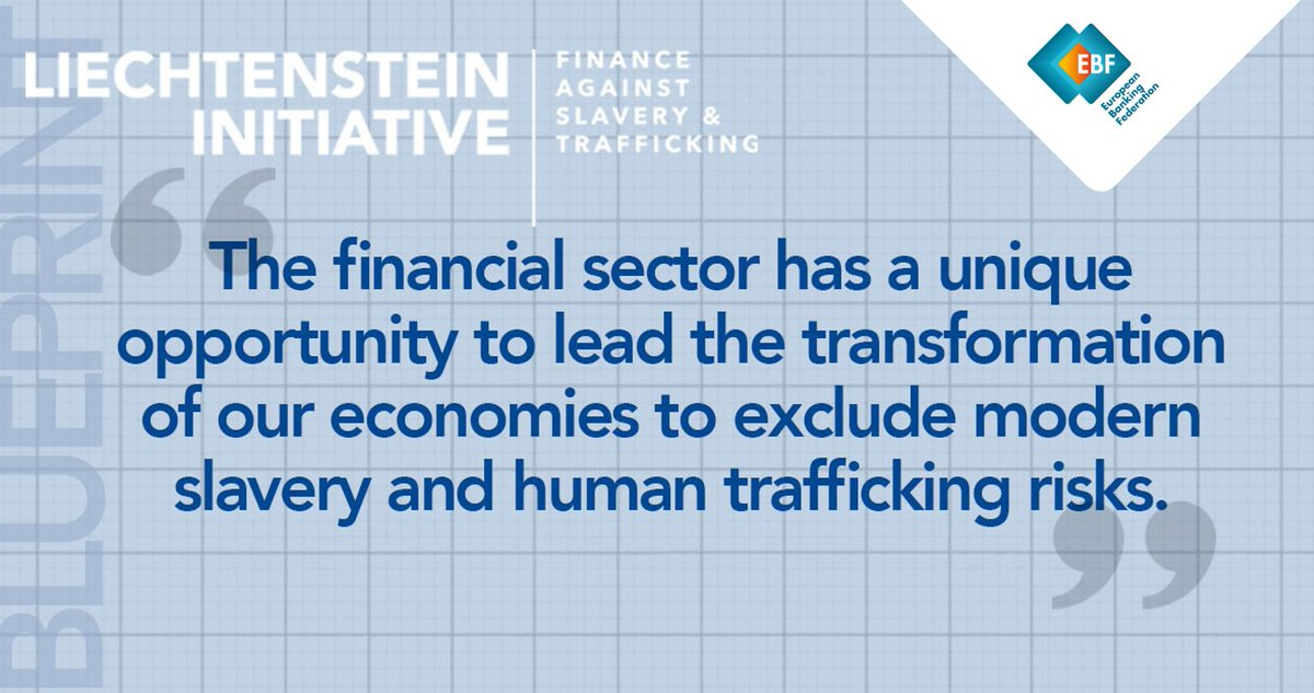 """""""The financial sector has a unique opportunity to lead the transformation of our economies to exclude modern slavery and human trafficking risks."""" 🛑 📈  #LiechtensteinInitiative #FAST #StopHumanTrafficking https://t.co/tBkgqLE7De https://t.co/jMSZKClmb9"""
