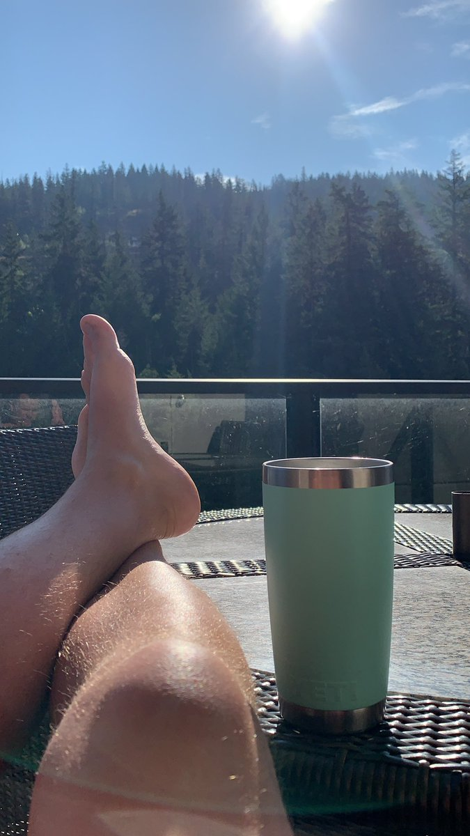 What a #friday morning! #monstergains #sunshine #mountainview #coffee #yeti #stocks #daytrading waiting for @TMTteammoney to arrive! #bc #lakelife #maralake #sicamous https://t.co/Fo1JbZsBoP