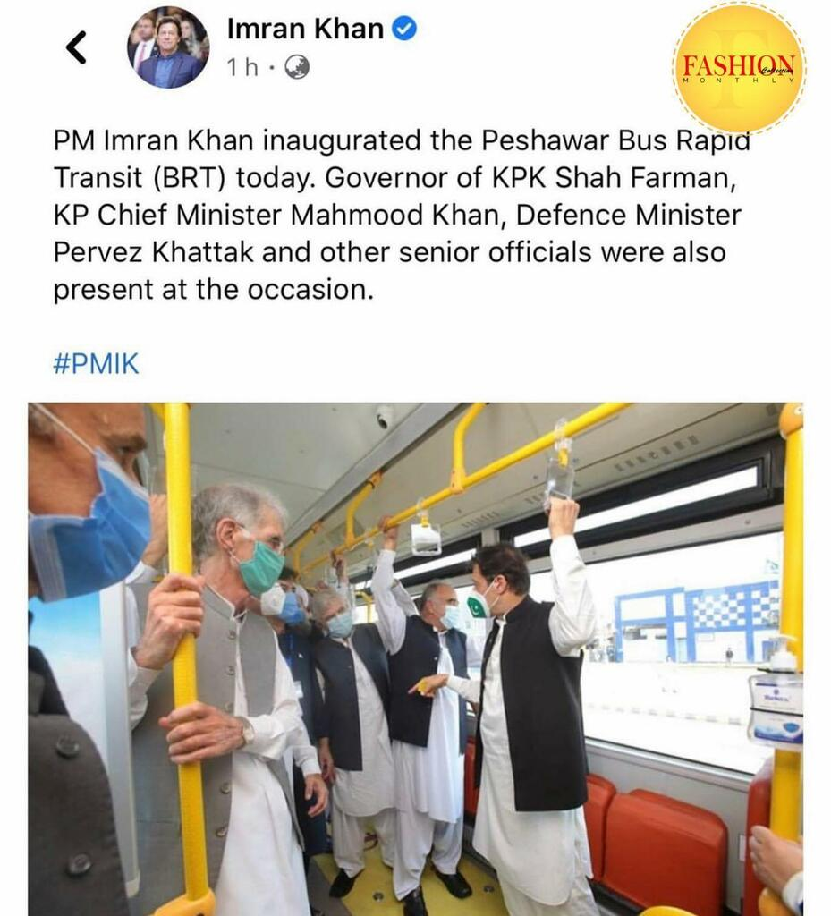 Inauguration of Peshawar bus rapid transit (BRT) by our PM 🙌🏻 . #fcmag #pakistan #imrankhan #development #news #staysafe #actors #lifestyle #music #brands #weekday https://t.co/PNTqPpnETH https://t.co/S7qdpQXJQe