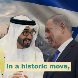 Peace in the Middle East — #Israel and the #UAE make peace. 🇮🇱🇦🇪 https://t.co/vOXkLnzWJL