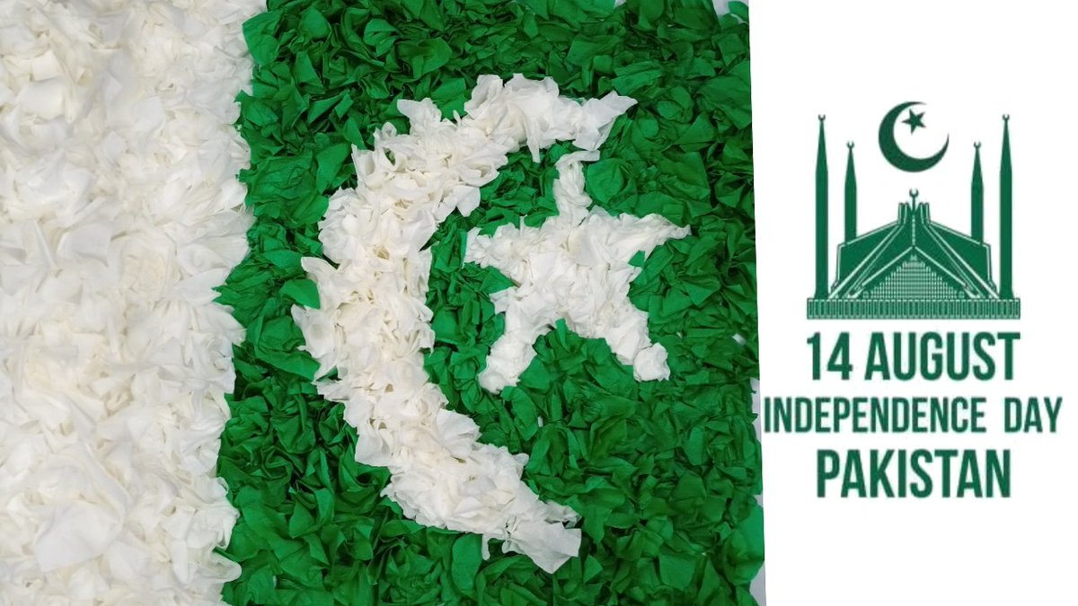 14 August Pakistan Flag 🇵🇰 l happy independance day to all friends 🇵🇰🥀💓💞 watch full on my youtube channel  https://t.co/DW3nQsJuAq 👈  #14aug #azadi #indpendenceday #happyindependenceday #pakistan #card #14august1947 #pakarmy #pakforces #diy #instagram #follow_me #famous https://t.co/yLuHzG5tMZ