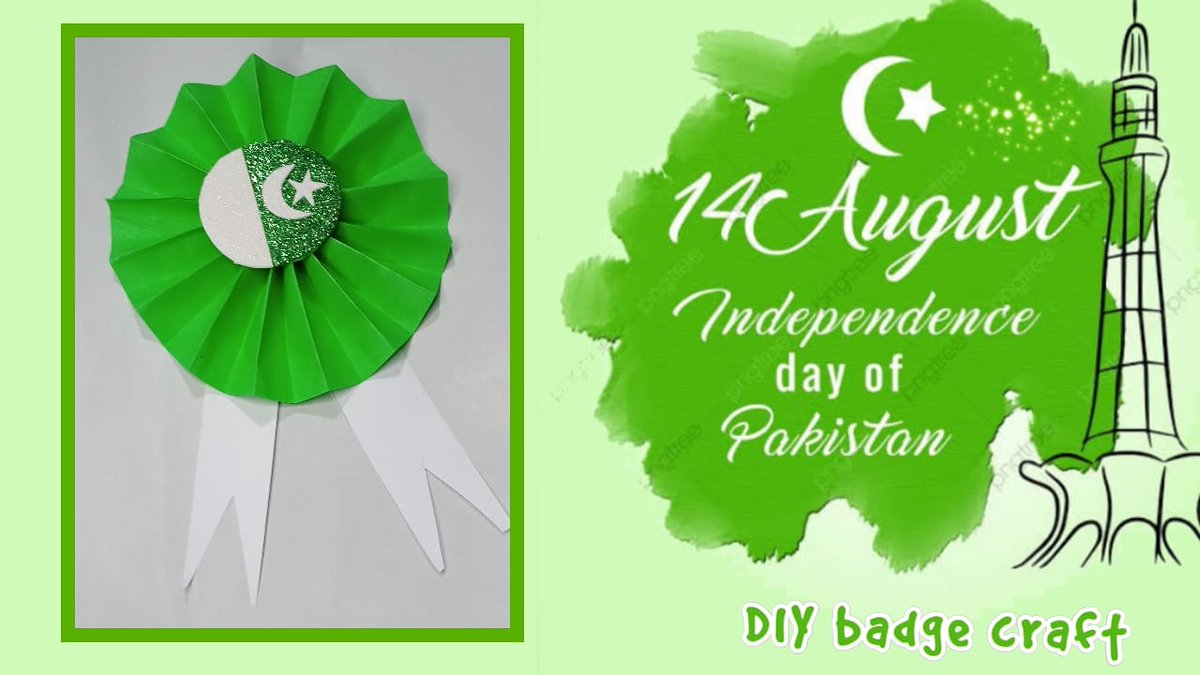 14 August Badge 🇵🇰 l happy independance day Badge 📛 watch full on my youtube channel  link in bio 👈  #14aug #azadi #indpendenceday #happyindependenceday #pakistan #card #14august1947 #pakarmy #pakforces #diy #instagram #follow_me #famous #trending #14augustbadges https://t.co/cx7HdlUrnQ