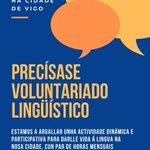 Image for the Tweet beginning: Actividade dinámica e participativa para