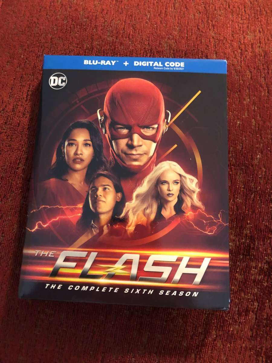 JUST arrived in the Lair. Includes limited edition bonus disc with all #Crisis eps. What are you waiting for? Go get it! In a #Flash! @SuperPRGuy #WarnerBros  #CrisisOnInfiniteEarths #comics #comicbooks #superhero #superheroes #popculture #DC https://t.co/PjGCFUYiJj