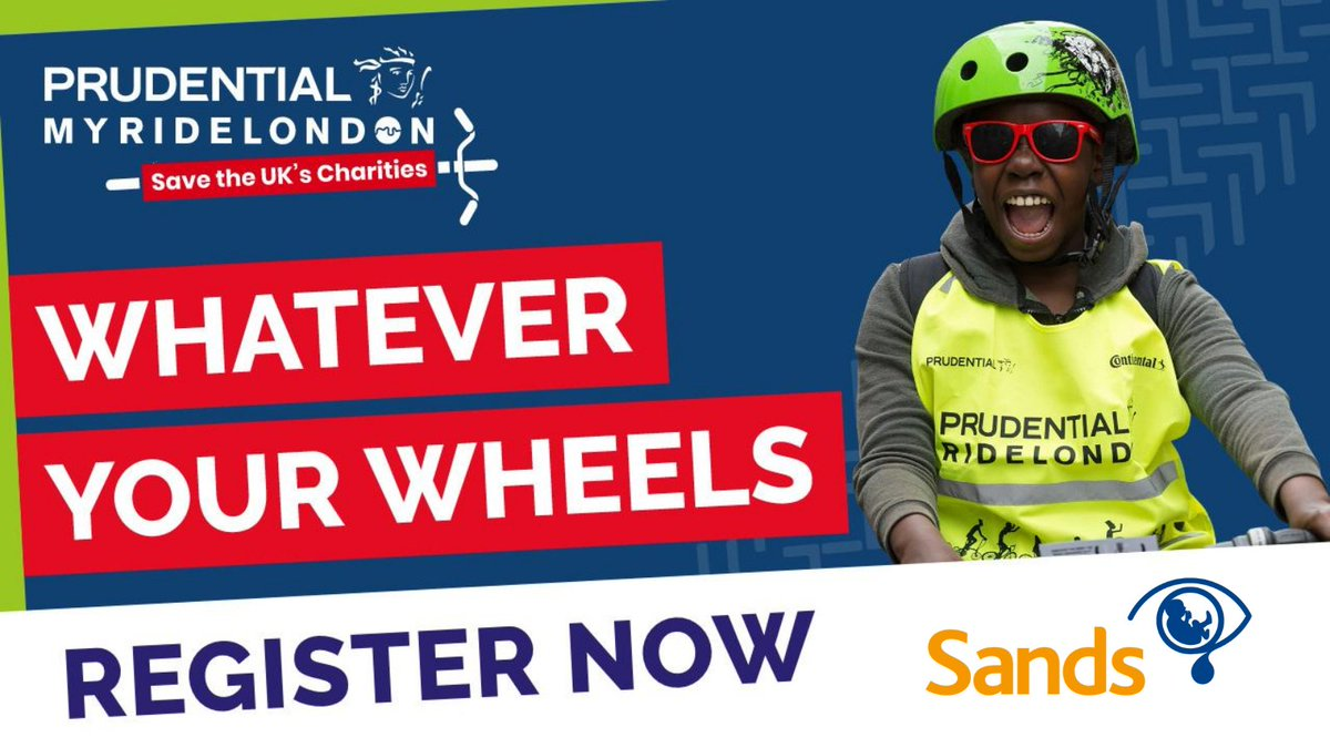 Good Luck to all our @RideLondon fundraisers taking on their challenge this weekend!    There's still time to sign up and fundraise, all you need are some wheels!    #DoItLikeDaisy and join #TeamSands this weekend 🚴♀️  For more info 👉 https://t.co/DLFs7xEmTx  #MyPRL https://t.co/NB6UTCcQ1B