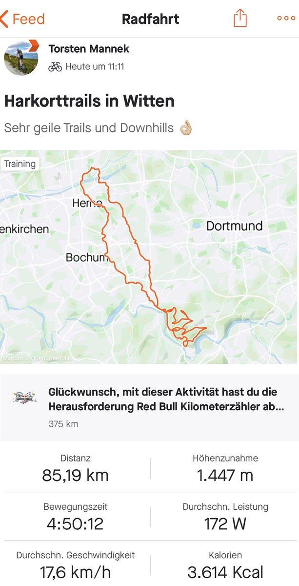 Schöne 85 Km Tour mit 1.447 Hm gefahren! Geht nicht nur in 🇦🇹😉 #mtb #trek #supercaliber #hometrails https://t.co/TAtamBAsYr