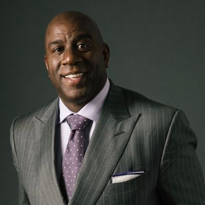 """Happy Birthday to one of the greatest in the game, Earvin \""""Magic\"""" Johnson Jr. !!"""