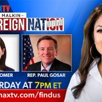Image for the Tweet beginning: TOMORROW NIGHT on @newsmax #SovereignNation