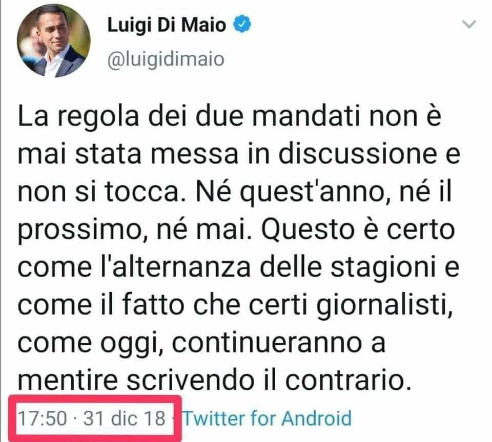 #doppiomandato