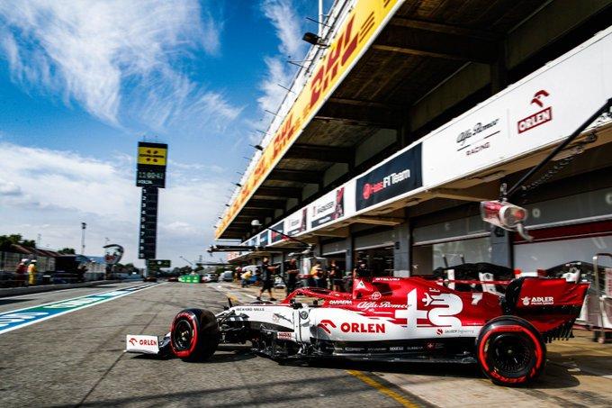 #F1 #SpanishGP   Viernes en España – Alfa Romeo a dos segundos de Mercedes https://t.co/AvFUWmg1eN https://t.co/XRZ0nIKuZ1
