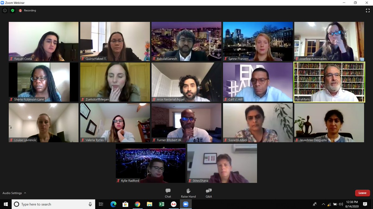 .@ISTAART #DiversityPIA #AAIC20 scientific session w/ speakers from all around the world & time zones @ytquiroz @gmbreads @alladi_suvarna @marioparrarodri @SheriaRobinson @mlzuelsdorff @NeuropsychArce @hillcv17 - excellent discussions. Thank you all for sharing your work! https://t.co/7XZuW44WhL https://t.co/L6vQN0bbpx